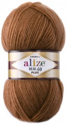 Пряжа Alize ANGORA REAL 40 PLUS 234 рыжий