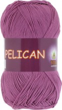 Пряжа Vita cotton PELICAN 4006 св.цикламен