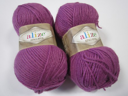 Пряжа Alize ALPACA ROYAL 337 орхидея