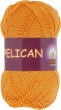 Пряжа Vita cotton PELICAN 4007 желток