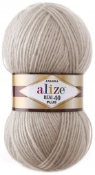 Пряжа Alize ANGORA REAL 40 PLUS 541 норка