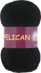 Пряжа Vita cotton PELICAN 3952 черный
