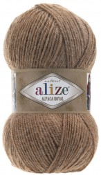Пряжа Alize ALPACA ROYAL 466 верблюжий