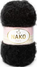 Пряжа Nako PARIS 217 черный