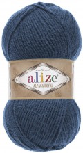 Пряжа Alize ALPACA ROYAL 381 джинс