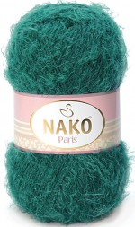 Пряжа Nako PARIS 3440 изумруд