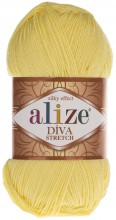 Пряжа Alize DIVA STRETCH 643 лимон