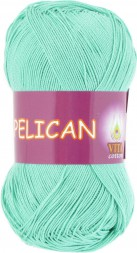 Пряжа Vita cotton PELICAN 3970 мятный