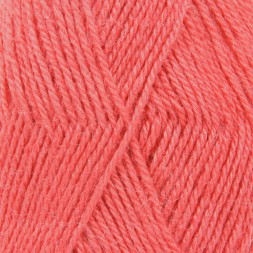 Пряжа Drops ALPACA UNI COLOUR 9022 коралл