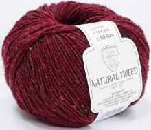 Пряжа Valeria di Roma NATURAL TWEED 027 вишня
