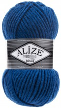 Пряжа Alize SUPERLANA MAXI 141 василек