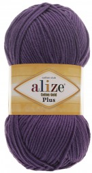 Пряжа Alize COTTON GOLD PLUS 44 фиолет