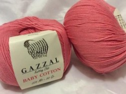 Пряжа Gazzal BABY COTTON 3435 лосось