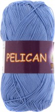 Пряжа Vita cotton PELICAN 3975 лазурь