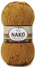Пряжа Nako SUPER INCI HIT TWEED 1091 горчица