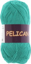 Пряжа Vita cotton PELICAN 3979 зел.бирюза