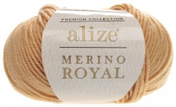 Пряжа Alize MERİNO ROYAL 97 верблюжий