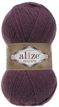 Пряжа Alize ALPACA ROYAL 169 слива