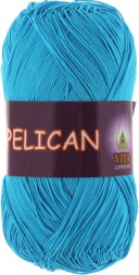 Пряжа Vita cotton PELICAN 3981 гол.бирюза