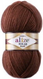 Пряжа Alize ANGORA REAL 40 PLUS 36 терракот