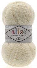 Пряжа Alize ANGORA GOLD STAR 01 крем
