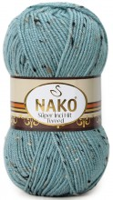 Пряжа Nako SUPER INCI HIT TWEED 4761 серо-голубой