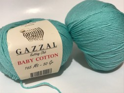 Пряжа Gazzal BABY COTTON 3452 ментол