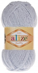 Пряжа Alize SOFTY 416 серый