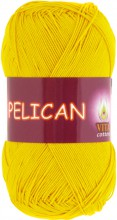 Пряжа Vita cotton PELICAN 3998 желтый