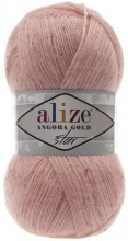 Пряжа Alize ANGORA GOLD STAR 363 неж.роза