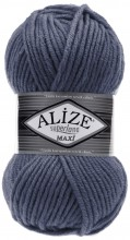 Пряжа Alize SUPERLANA MAXI 381 джинс