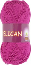 Пряжа Vita cotton PELICAN 4002 цикламен