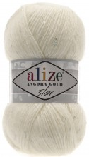 Пряжа Alize ANGORA GOLD STAR 62 молочный