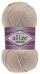 Пряжа Alize COTTON GOLD 67 молочн-беж
