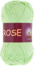 Пряжа Vita cotton ROSE 3910 св.салатовый