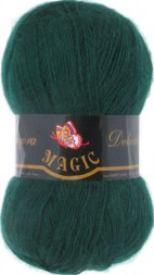 Пряжа Magic ANGORA DELICATE 1109 т.зеленый