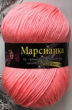 Пряжа Color City МАРСИАНКА 09 яр.розовый
