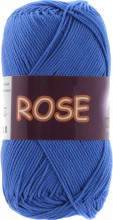 Пряжа Vita cotton ROSE 3931 яр.синий
