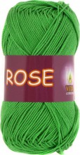 Пряжа Vita cotton ROSE 3935 молодая зелень