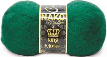 Пряжа Nako KING MOHER 11288 изумруд
