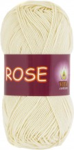 Пряжа Vita cotton ROSE 3950 экрю