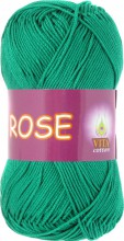 Пряжа Vita cotton ROSE 4251 изумруд