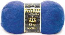 Пряжа Nako KING MOHER 2927 василек
