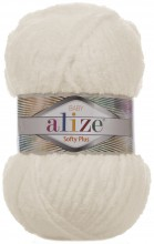Пряжа Alize SOFTY PLUS 62 кремовый