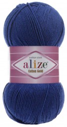 Пряжа Alize COTTON GOLD 389 индиго