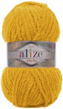 Пряжа Alize SOFTY PLUS 82 желтый