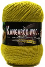 Пряжа Color City KANGAROO WOOL 121 липа