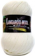 Пряжа Color City KANGAROO WOOL 2000 белый
