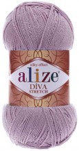 Пряжа Alize DIVA STRETCH 505 сирень