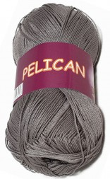 Пряжа Vita cotton PELICAN 4011 серый